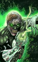 Zombie Green Lantern by paperlab