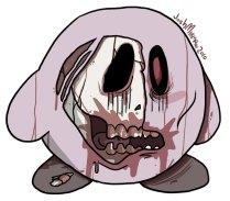 Zombie Kirby by Josh Mirman