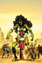 Zombie She-Hulk by skage