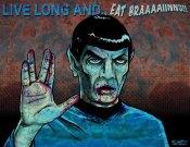 Zombie Spock by Molitorius