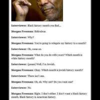 Morgan Freeman se la sabe