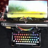 Maquina de Escribir Cromática