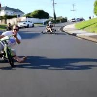 Drifting en Triciclos