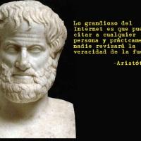 Aristóteles sobre el Internet