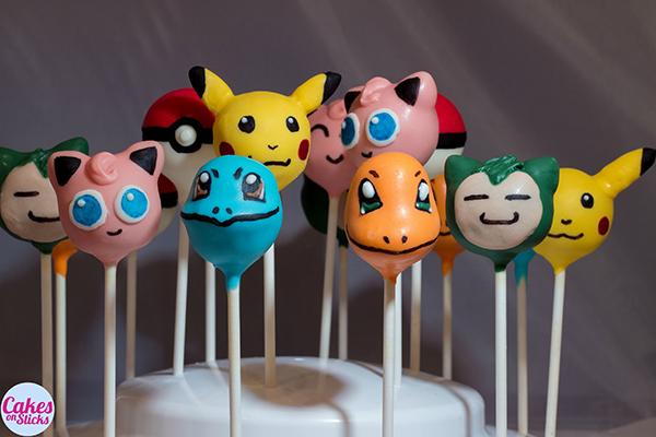 Pokemon Cake Pops Diy