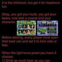 Juego de beber de Mario Kart