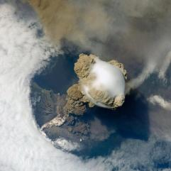Erupting-Volcano-Photographed-From-Space