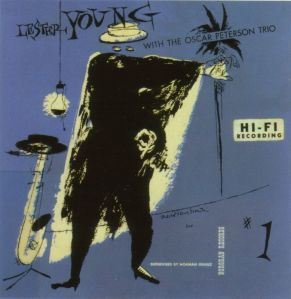 Lester Young with the Oscar Peterson Trio_front