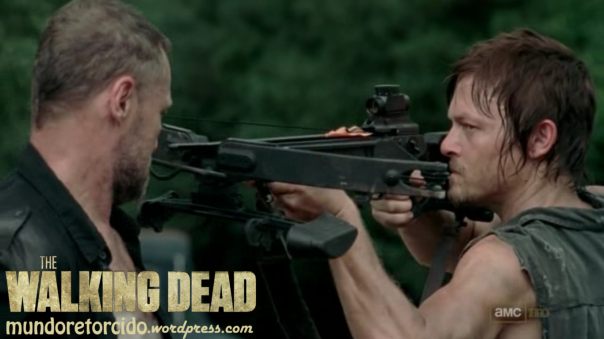 The Walking Dead 3x10 home daryl merle crossbow 05
