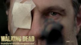 The Walking Dead 3x10 home governor gun shot 08