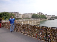 Pont de l'Archevêché, Paris, France