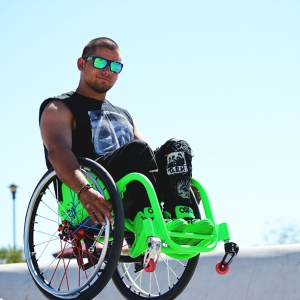 Wheelchair Freestyle / Silla de ruedas extrema