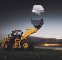 Awesome-Photo-Of-A-Tractor-Catching-A-Cloud