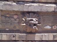 En el Templo de Quetzalcóatl